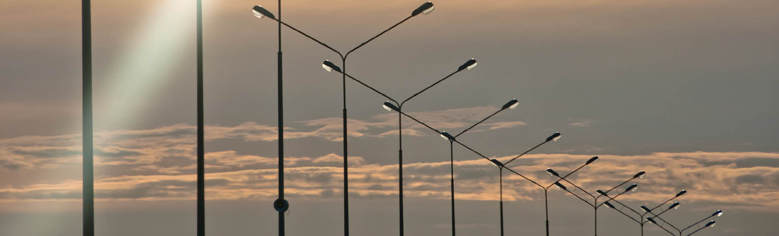 Street Lighting for Advanced Traffic Systems