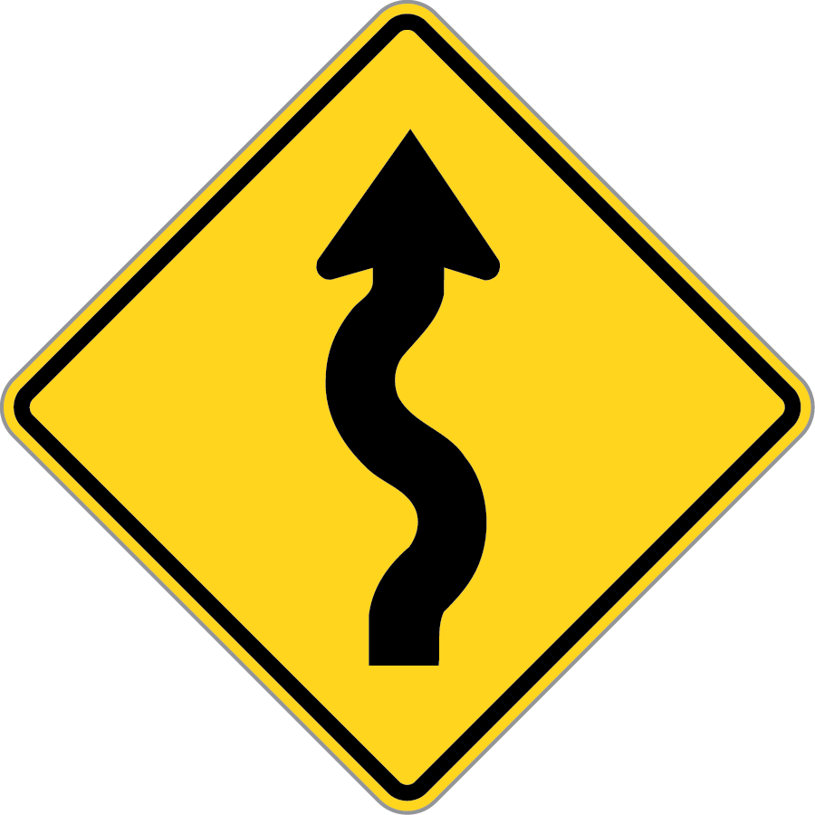 Winding Road Right
