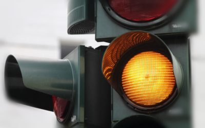 When does running the yellow light become illegal?