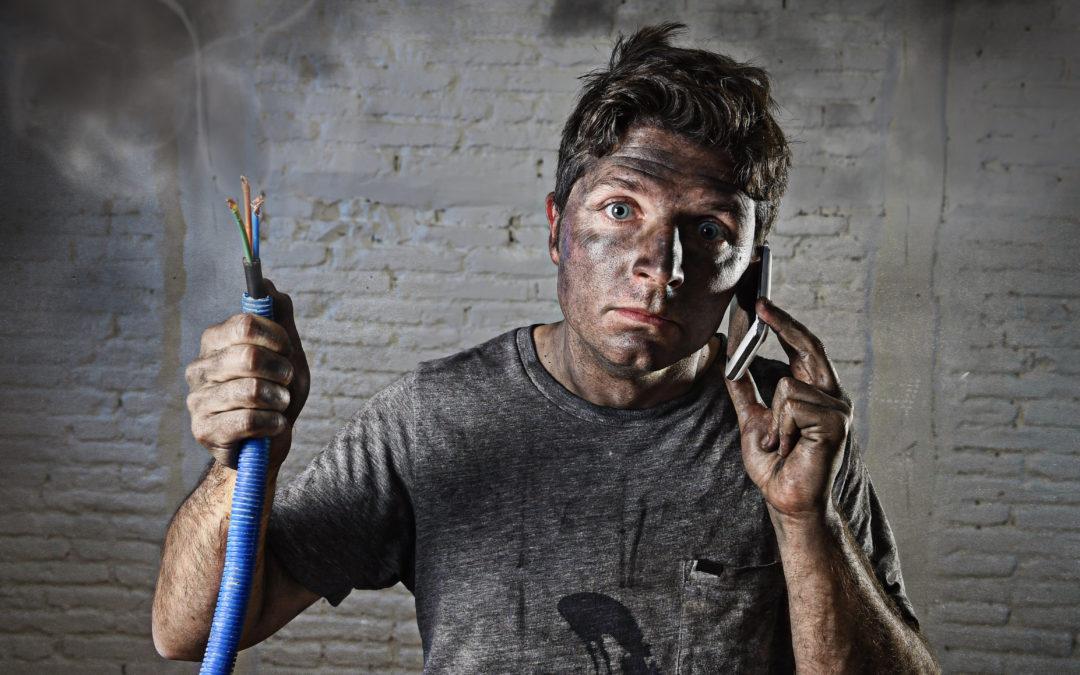 Finding a Broken Wire Underground