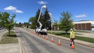 LED Streetlighting Edmonton